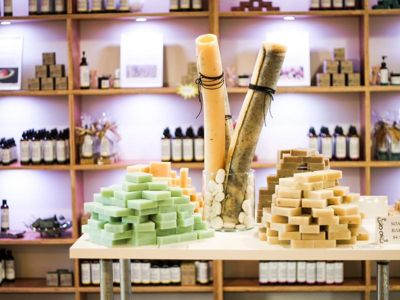 1st South Aust. retail outlet for Vasse Virgin natural olive oil based luxury body products