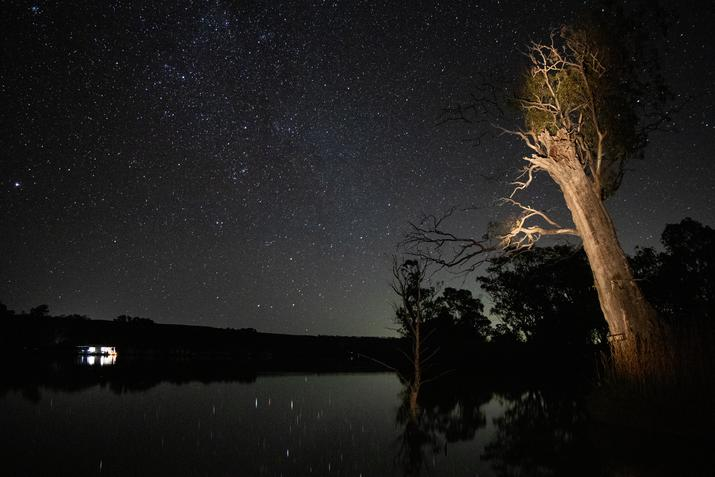 Experience the River Murray at Night