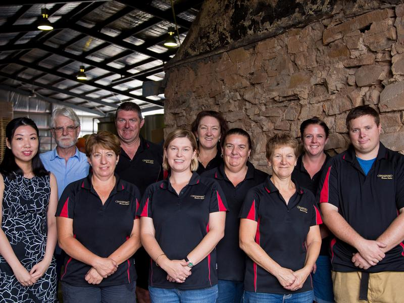 The Team at Craneford Wines