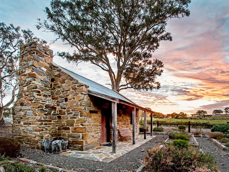 Brockenchack Vineyard's lovingly restored original stone Coach House
