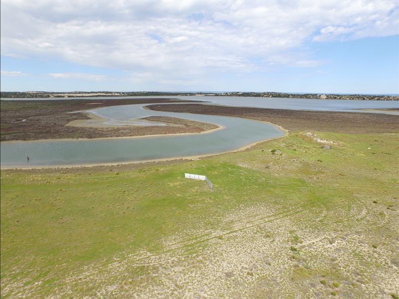 Coorong campsite