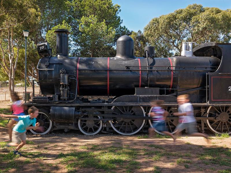 Locomotive Playground — Tailem Bend